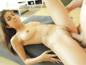 Big Cock And A Perfect Tits Petite Girl Fucking