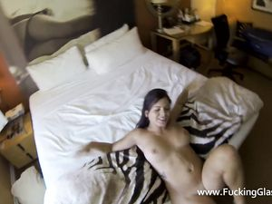 Fucking Curvy Keisha Grey And Cumming On Her Stomach