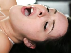 Teen Flirt Bent Over A Stool And Fucked Doggystyle