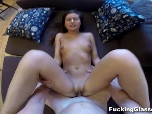 Sweet Euro Girl Is His For POV Fucking