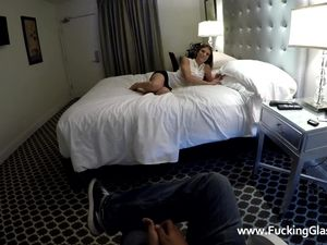 Dillion Harper Taking Dick In A Hotel Room