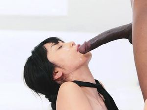 Perfect Asian Girl Banged By A Huge Black Cock