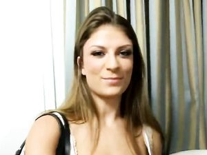 Brunette With Big Tits Fucking In Doggy Style