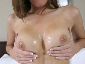 Amazing Young Babe Stripping And Fucking Naked