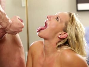 Cock And Cum Is What She Wants For Breakfast
