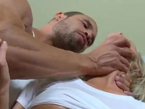 Big Man Uses The Big Breasted Slut Like A Sex Toy