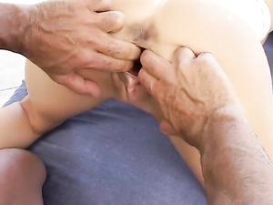 Big Tits Latina Girl Craves Anal Stretching Sex