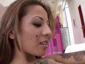 Alt Girl Seduces Her Stepsister Into Wild Sex
