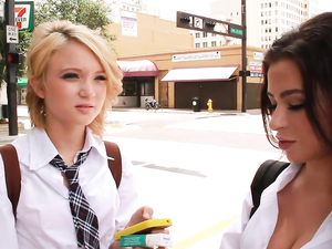 Big Dick Is What These Slutty Schoolgirls Really Crave