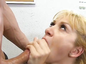 Athletic Schoolgirl Shows Her Teacher A Good Time