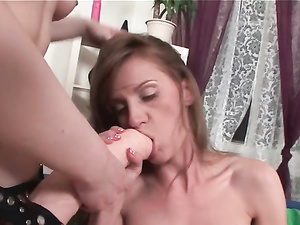 Extreme Lesbian Strapon Sex With Hole Stretching