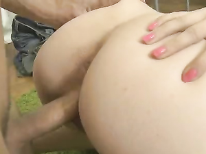 Big Ass Blonde Girlfriend Fucked Hard From Behind