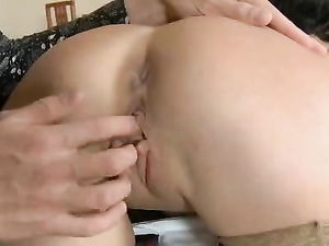 Stockings Spice Up Great Sex With This Teenage Girl